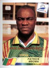 N° 134 - Patrick M'BOMA (1994-97, PSG > 1998, Cameroun)