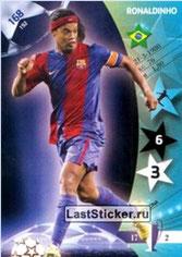 N° 168 - RONALDHINO (2001-03, PSG > 2006-07, Barcelone, ESP)