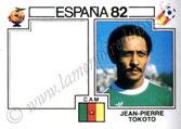 N° 096 - Jean-Pierre TOKOTO (1975-78, PSG > 1982, Cameroun)