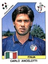 N° 049 - Carlo ANCELOTTI (1990, Italie > 2011-13, Entraîneur PSG)