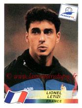N° 173 - Lionel LETIZI (1998, France > 2000-06, PSG)