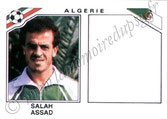N° 237 - Salah ASSAD (1983-84, PSG > 1986, Algérie)