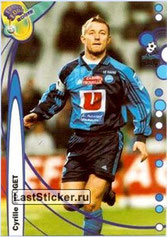 N° 057 - Cyrille POUGET (1996-97, PSG > 1999-00, Le Havre)
