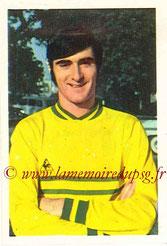 N° 136 - Claude ARRIBAS (1970-71, Nantes > 1971-72, PSG)
