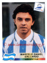 N° 510 - Marcelo GALLARDO (1998, Argentine > Janv 2007 à Janv 2008, PSG)