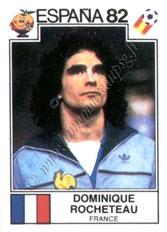 N° 288 - Dominique ROCHETEAU (1980-88, PSG > 1982, France))
