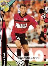 N° 193 - Franck GAVA (1997-98, PSG > 1999-00, Rennes)