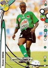 N° 212 - Oumar DIENG (1994-96, PSG > 1999-00, Sedan)
