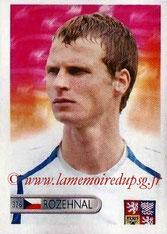 N° 326 - David ROZEHNAL (2005-07, PSG > 2006, République Tchèque)