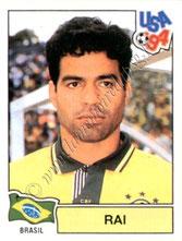 N° 102 - RAI (1993-98, PSG > 1994, Brésil)