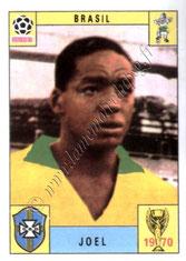 N° 174 - Camargo JOEL (1970, Brésil > 1971-72, PSG)