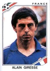 N° 174 - Alain GIRESSE (1986, France > Juin à Août 1998, Entraîneur PSG)