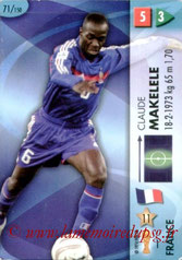 N° 071 - Claude MAKELELE (2006, France > 2008-11, PSG)