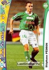 N° 207 - Stéphane PEDRON (1999-00, Saint-Etienne > Jan à Juin 2003, PSG)