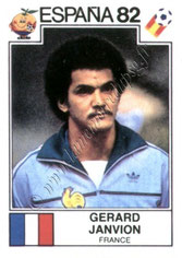 N° 277 - Gérard JANVION (1982, France > 1983-85, PSG)