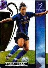 N° 115  - Zlatan IBRAHIMOVIC (2008-09, Inter Milan, ITA > 2012-??, PSG) (Ultra Card)