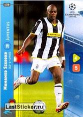 N° 139 - Mohamed SISSOKO (2008-09, Juventus Turin, ITA > 2011- Jan 12, PSG)
