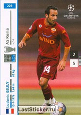N° 229 - Ludovic GIULY (2007-08, AS Roma, ITA > 2008-11, PSG)