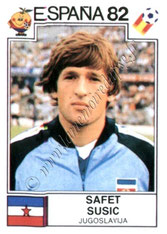 N° 325 - Safet SUSIC (1982, Yougoslavie > 1982-91, PSG)