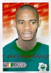 N° 168 - Bonaventure KALOU (2005-07, PSG > 2006, Cote d'Ivoire)