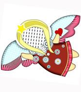 Engel, Engelskissen, Weihnachtsgeschenk, Schutzengel, Namenskissen, Kinderkissen, Babykissen, Fotokissen, Tierkissen, Kuschelkissen