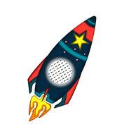 Rakete Kissen, Rakentenkissen, All, Sterne Mond und Sonne,Namenskissen, Kinderkissen, Babykissen, Fotokissen, Tierkissen, Kuschelkissen