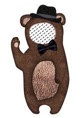 Bärenkissen, Kissen Bär, Namenskissen, Kinderkissen, Babykissen, Fotokissen, Tierkissen, Kuschelkissen