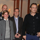 v.l.n.r. Volker Kathöfer, Wendy Godt, Hans-Hermann Strandt, Martin Schildmacher