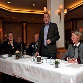v.l.n.r. Martin Schildmacher, Volker Kathöfer, Hans-Hermann Strandt, Wendy Godt