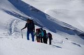 Stetig dem Gipfel entgegen