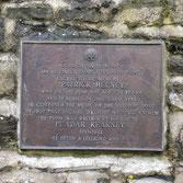 Cemetary plaque