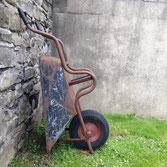 Cemetary wheelbarrow