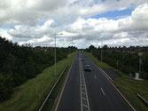 From an overpass