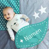Babydecke mit Namen