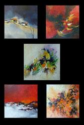 Violette Jaget, peinture à l'huile et aquareliste à Saint Ouen d'Aunis