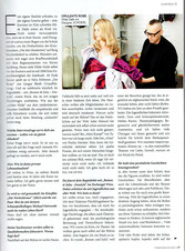 Hilde Dalik wearing JCHOERL Coverstory Magazin NiederÖsterreicherin