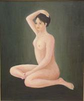 裸婦  油彩6号