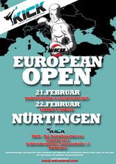 Erol Alp startet bei WKU European Open 2015