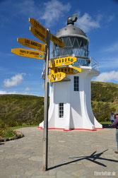 Neuseeland - Motorrad - Reise - traumhafte Motorradstrecken Cape Reinga
