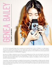 http://issuu.com/hooliganmag/docs/issue_11 with Genea Bailey See