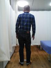 腰の不具合 施術前