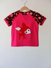Lumpenprinzessin T-Shirt Reh Forest Lillestoff