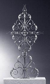 Schmiedeeisen Grabkreuz 136x70cm