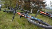 Fahrtechnik mit dem E-Mountainbike von Flyer sind lehrreich