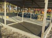 Zementboden fertig