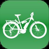 Winora Trekking e-Bikes und Pedelecs in der e-motion e-Bike Welt in Frankfurt