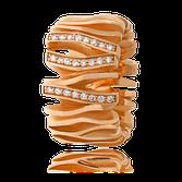 Schmuckring in Weissgold mit Brillanten aus der Himalaja Kollektion der Goldschmiede OBSESSION