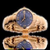 Armbanduhr von Girard Perregaux in Rotgold mit einem Armband von der Goldschmiede OBSESSION