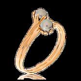 Anfertigung auf Kundenwunsch. Armreif in Rotgold mit zwei Tahiti-Perlen.