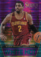 KYRIE IRVING / White Hot - No. 9  (#d 36/99)
